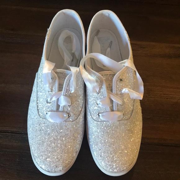 8a349865f Keds Shoes | X Kate Spade New York Champion Glitter | Poshmark